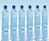 Gebotteld water Stock Fotografie