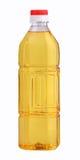 Gebottelde plantaardige olie royalty-vrije stock afbeelding