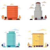 gebouwen Royalty-vrije Stock Afbeelding