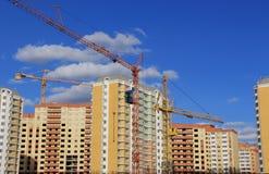 Gebouwen in aanbouw Royalty-vrije Stock Foto