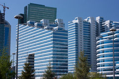 Gebouwen in Astana Royalty-vrije Stock Foto