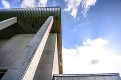 Gebouwen in beton Stock Afbeelding