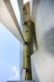 Gebouwen in beton Royalty-vrije Stock Foto's