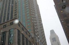 Gebouwen in Chicago, Illinois Stock Fotografie