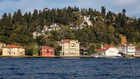 Gebouwen in de Stad van Istanboel, Turkije Stock Afbeelding