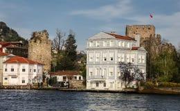 Gebouwen in de Stad van Istanboel, Turkije Royalty-vrije Stock Foto