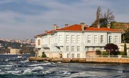 Gebouwen in de Stad van Istanboel, Turkije Royalty-vrije Stock Afbeeldingen