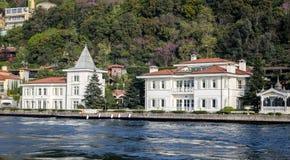 Gebouwen in de Stad van Istanboel, Turkije Royalty-vrije Stock Afbeelding