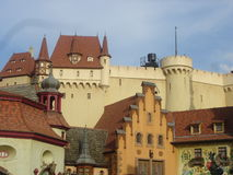 Gebouwen in Duitsland royalty-vrije stock foto