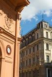 Gebouwen en architectuur van Riga Royalty-vrije Stock Afbeeldingen