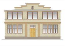 Gebouwen en structuren van de vroege en medio 20ste eeuw Royalty-vrije Stock Foto