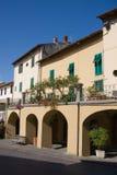 Gebouwen, Greve in Chianti Stock Fotografie