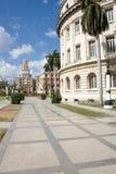 Gebouwen in het centrum van Havana Royalty-vrije Stock Afbeeldingen