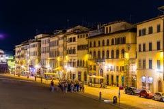 Gebouwen in het stadscentrum van Florence royalty-vrije stock fotografie