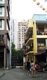 Gebouwen in Kuala Lumpur Malaysia en paar stock fotografie