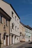 Gebouwen in Melk, Oostenrijk royalty-vrije stock afbeeldingen