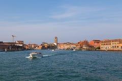 Gebouwen in Murano Royalty-vrije Stock Foto