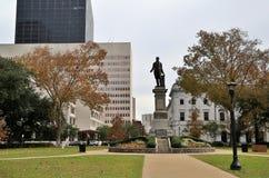 Gebouwen in New Orleans royalty-vrije stock afbeeldingen