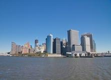 Gebouwen op Manhattan Stock Fotografie