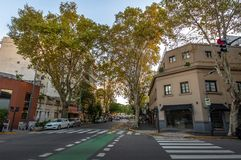 Gebouwen in Palermo Soho - Buenos aires, Argentinië stock afbeeldingen