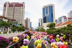 Gebouwen in Singapore Stock Afbeelding