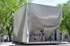 Gebouwen in Van de binnenstad, Winnipeg royalty-vrije stock fotografie