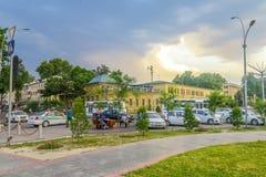Gebouwen 03 van de Kokandstad stock fotografie
