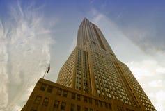 Gebouwen van de Stad van New York Royalty-vrije Stock Afbeeldingen