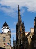 Gebouwen van Edinburgh. Royalty-vrije Stock Foto's