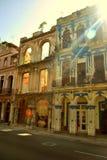 Gebouwen van Havana Stock Afbeeldingen