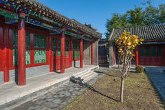 Gebouwen van het Paleis van Shenyang de Keizer Royalty-vrije Stock Afbeelding