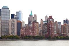 Gebouwen van New York royalty-vrije stock afbeelding