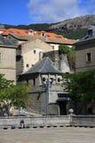 Gebouwen van San Lorenzo de El Escorial spanje Stock Afbeeldingen