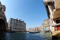 Gebouwen in Venetië Stock Afbeelding