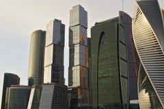 Gebouwen voor zaken stock afbeelding