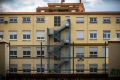 Gebouwen zoals abstracte fondsen Stock Foto