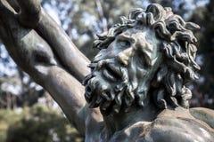 Gebrüllansicht der Laocoön-Skulpturreplik lizenzfreie stockfotos