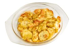 Gebraden aardappel Stock Afbeeldingen