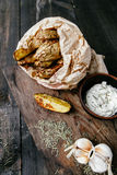 Gebraden aardappels Stock Fotografie