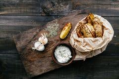 Gebraden aardappels Royalty-vrije Stock Afbeelding