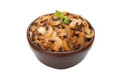 Gebraden champignon Stock Afbeelding