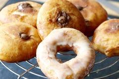 Gebraden doughnut Stock Afbeeldingen
