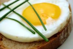 Gebraden eieren Stock Afbeeldingen
