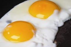 Gebraden eieren Royalty-vrije Stock Afbeelding