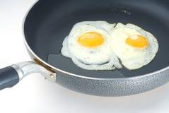 Gebraden eieren Stock Foto