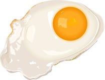 Gebraden eieren royalty-vrije illustratie