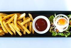 Gebraden Frans (gebraden aardappel) Stock Fotografie
