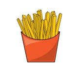 Gebraden gerechten vector illustratie