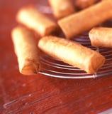 Gebraden kaasbroodjes Royalty-vrije Stock Afbeelding