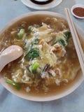 gebraden Kueh Teow (Gebraden noedels) stock foto's